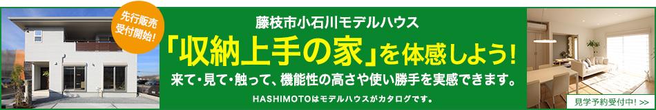 藤枝市 小石川モデルハウス 「収納上手の家」